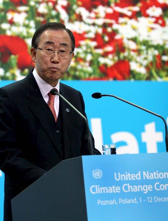 """El país que """"se hunde"""" por el calentamiento global lanza un SOS ante la ONU"""