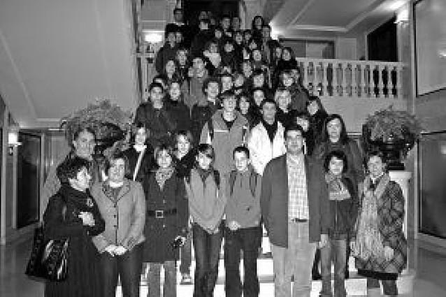 Recepción a alumnos franceses