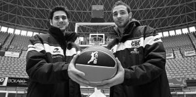 La aventura de dos navarros en la ACB