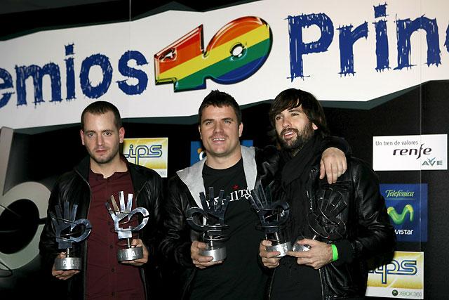 El Canto del Loco, un triunfo sin precedentes en los premios 40 Principales