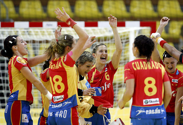 España se mete por primera vez en la final del Europeo de balonmano