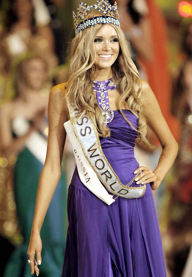 La rusa Ksenia Sukhinova se corona como Miss Mundo 2008 en Sudáfrica