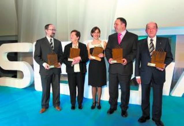 """La SER entregó los cinco premios """"Ser Navarro 2008"""""""