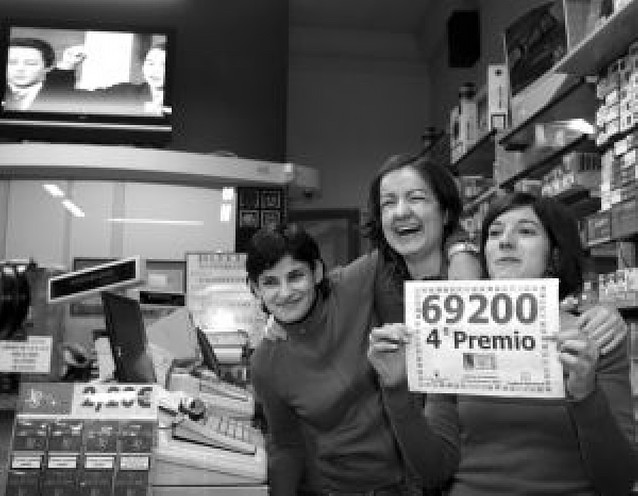Cada navarro podrá jugar una media de 58,05 euros en la lotería de Navidad