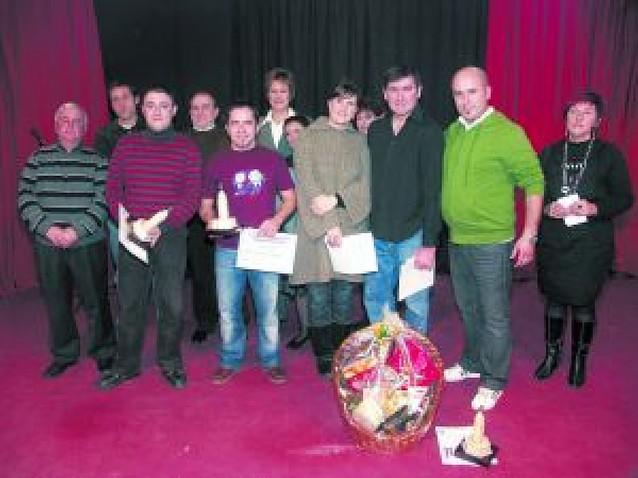 Gonzalo Jiménez gana el concurso de monólogos de Cascante