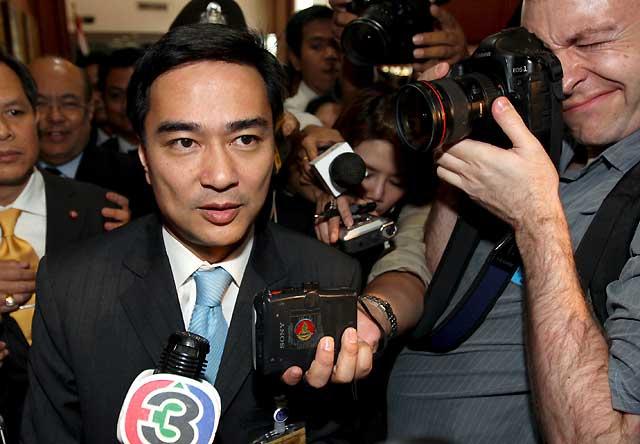 El candidato de la oposición, nombrado primer ministro de Tailandia