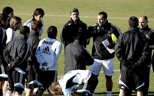Juande Ramos recupera las dobles sesiones de trabajo en el Real Madrid