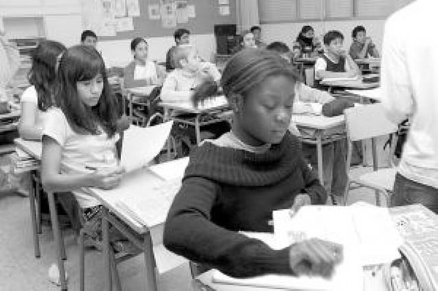 El número de alumnos inmigrantes sube un 44% en los últimos 5 años