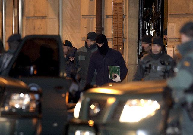 Cuatro detenidos en Guipúzcoa acusados de formar un comando de apoyo a ETA