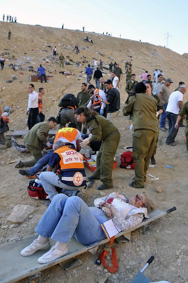 Al menos veinticinco turistas rusos mueren en un accidente de autobús en Israel