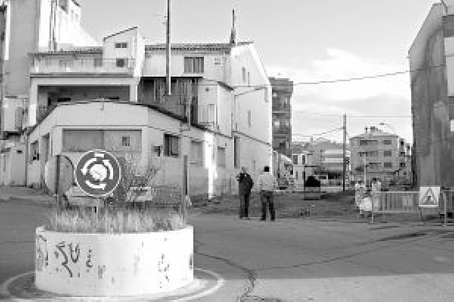 Lodosa remodelará la rotonda situada entre la calle de Los Fueros y la del Ebro