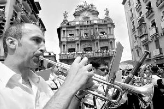 Pamplona paga 43. 000 euros al año por los derechos de la música de San Fermín