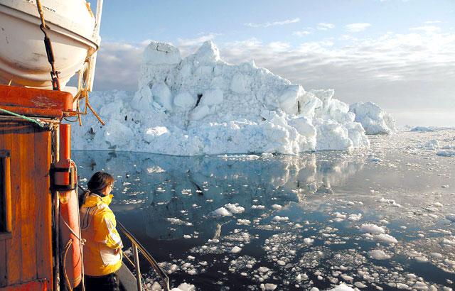 El calentamiento global derrite el hielo del Ártico hasta niveles históricos