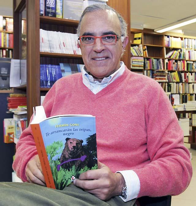 El periodista y escritor pamplonés Fermín Goñi presenta su última novela