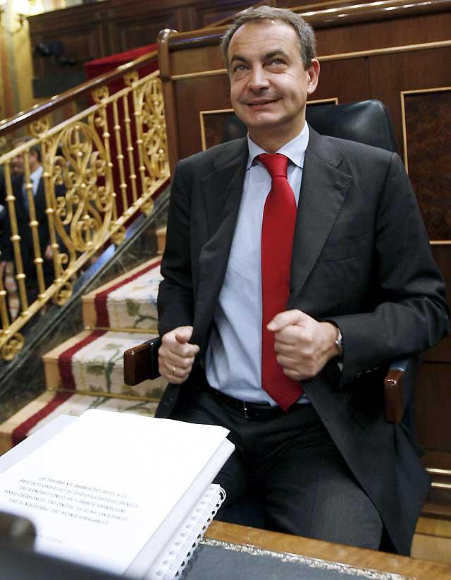 """Zapatero anuncia que para abril se generará un volumen de empleo """"muy estimable"""""""