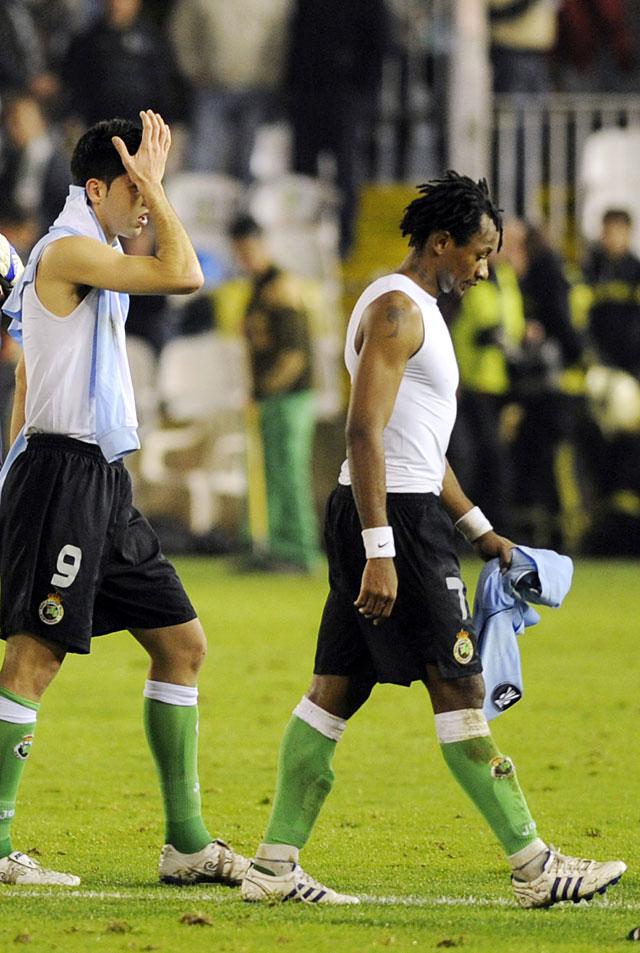 Sevilla y Racing se despiden de Europa y dejan sólos a Valencia y Deportivo