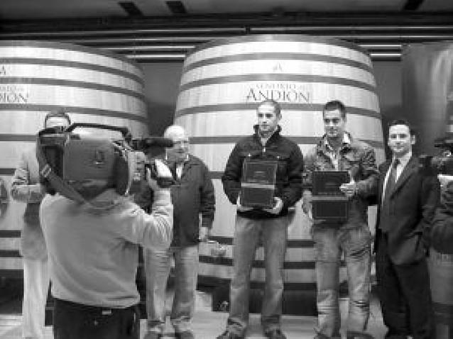 Asegarce recogió las 1.200 botellas de vino