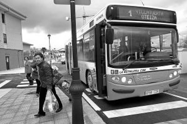 La travesía de Villatuerta se abre al tráfico tras seis meses de obras