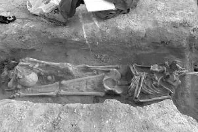 """La necrópolis visigoda hallada en Ablitas es un yacimiento """"único"""" en la Ribera"""