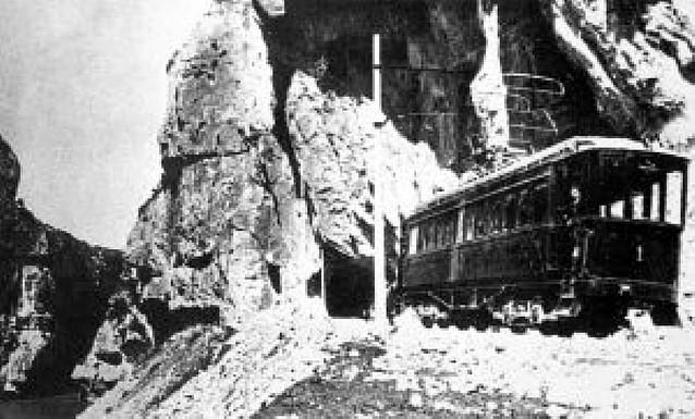 Los túneles de la foz de Lumbier cumplen cien años