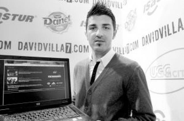 David Villa amenaza el Santiago Bernabéu