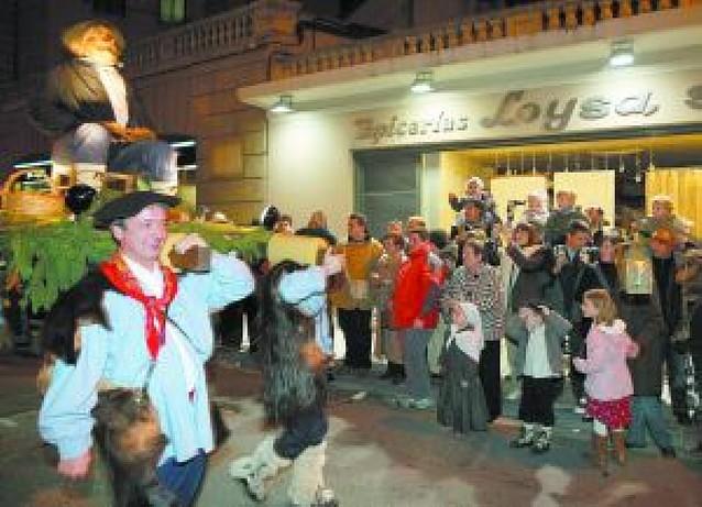 300 personas participarán en el Olentzero de Pamplona