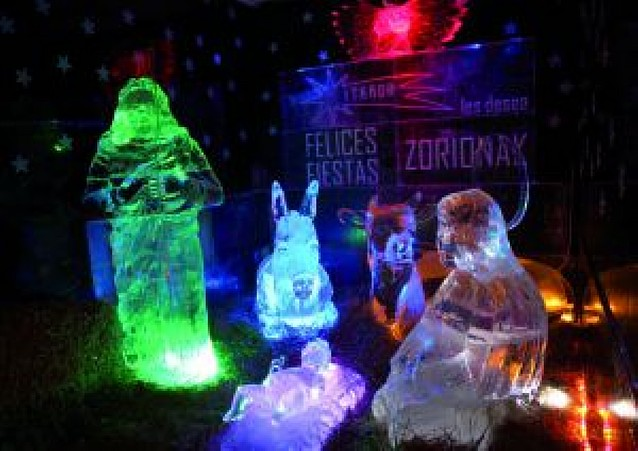 Navidad de hielo en Itaroa