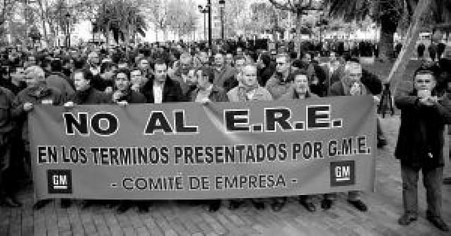 Los trabajadores rechazan las condiciones del ERE de Figueruelas