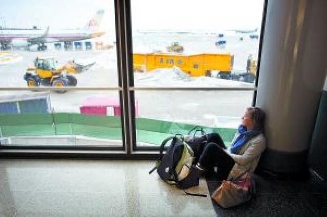 Anulados 650 vuelos en Nueva York por la nieve