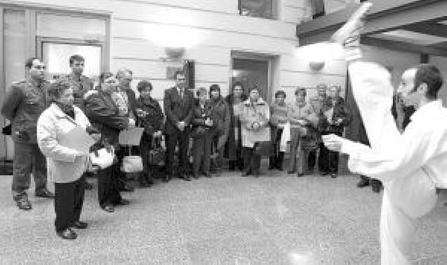 Homenaje en Eibar a las víctimas del terrorismo