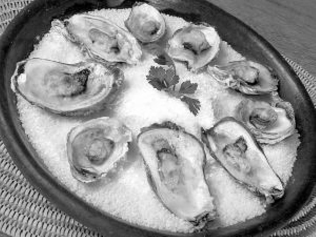 Hablando de ostras...