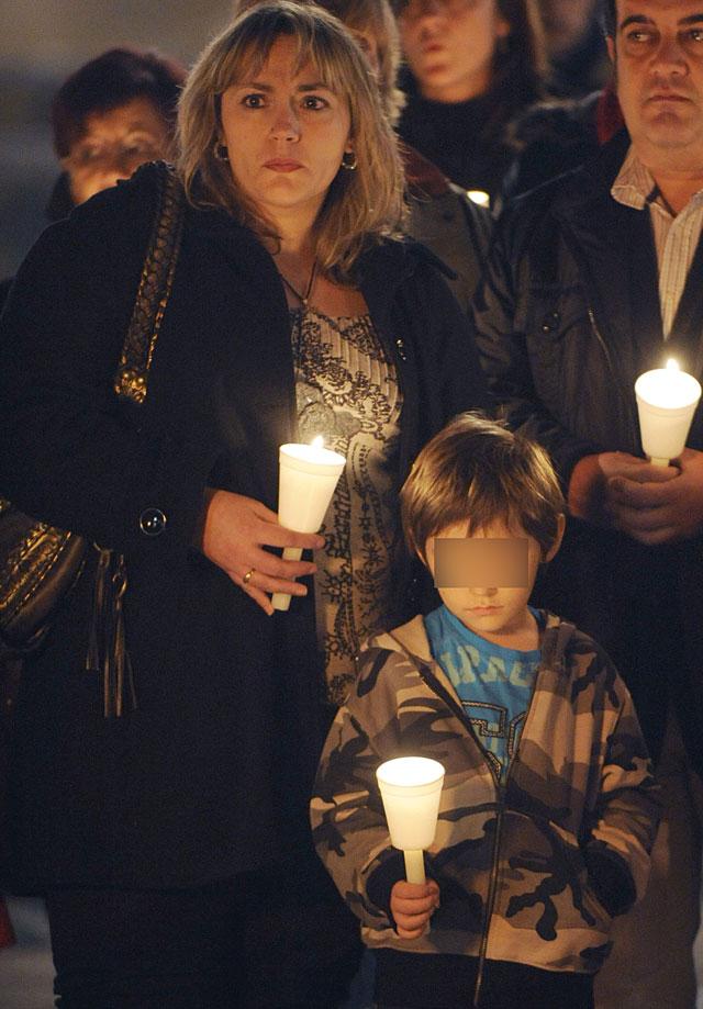Víctimas del terrorismo desean en San Sebastián un 2009 sin ETA y en libertad