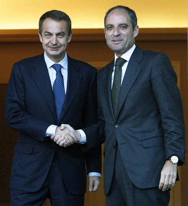 """Camps asegura que Zapatero tendrá la semana que viene """"la propuesta escrita del modelo"""""""