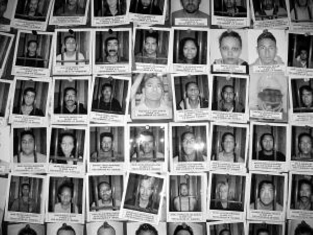 El territorio de la violencia narco