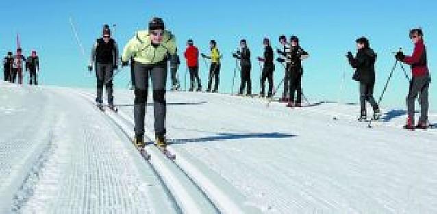 Los esquiadores, muy satisfechos