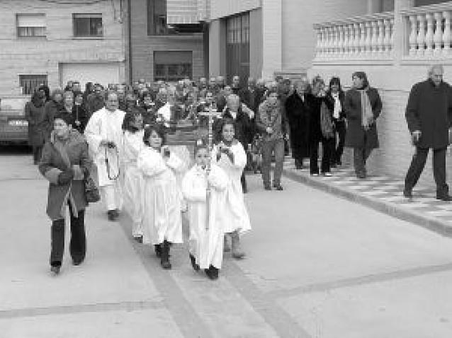 Procesión de la cofradía de la Virgen de Belén