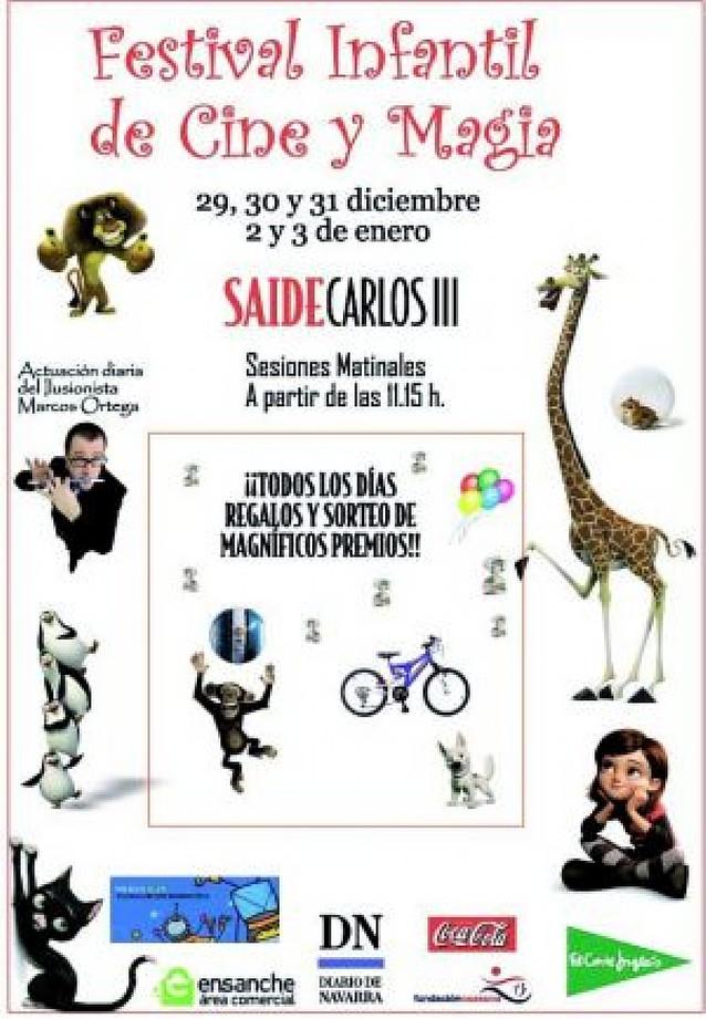 Mañana comienza el Festival Infantil de cine y magia matinal en Saide Carlos III