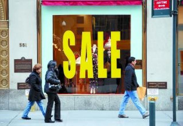 Brusca caída de las ventas de la temporada navideña en EE UU