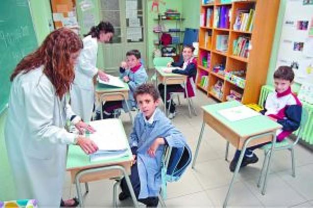 212 alumnos con problemas psíquicos estudian en colegios e institutos forales