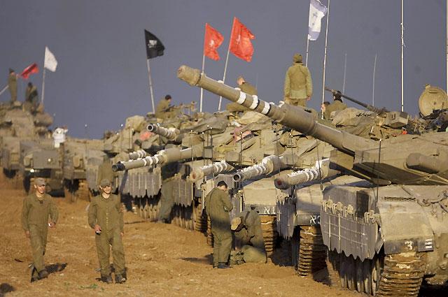 """Israel dice que la ofensiva contra Gaza está en su """"fase inicial"""""""