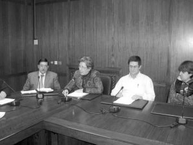 Mª José Fernández dejó ayer el Ayuntamiento de Estella