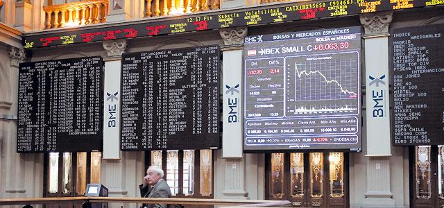 La Bolsa de Madrid cierra el peor año de su historia con un descenso del 39,4%