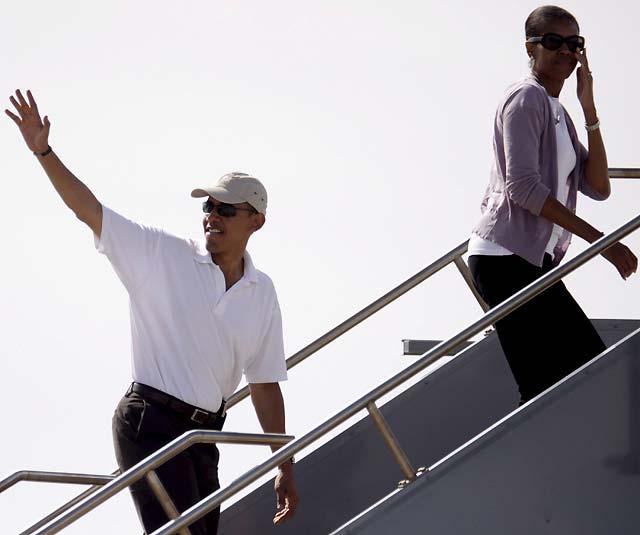 """Obama se muda al hotel """"embrujado"""" hasta que Bush vacíe la Casa Blanca"""
