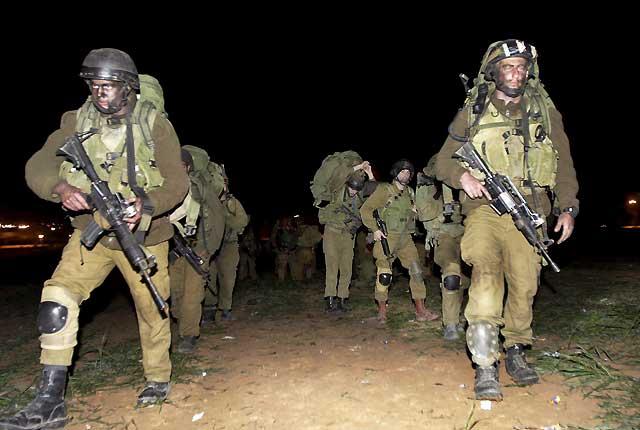 Comienza la ofensiva terrestre israelí en Gaza