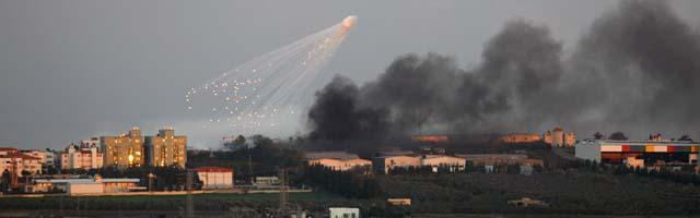 """Bush asegura que Hamas utiliza """"escudos humanos"""""""