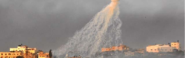 Decenas de muertos en los primeros combates tras la invasión israelí de Gaza