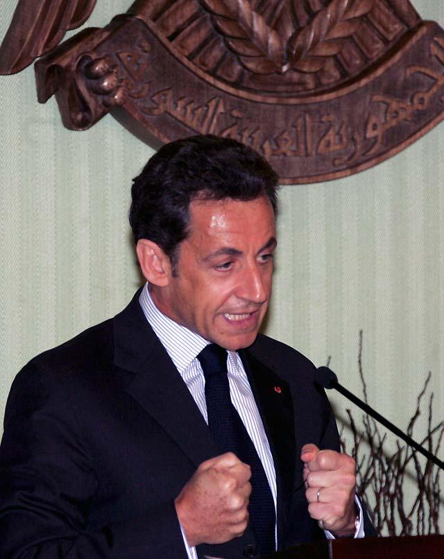 Sarkozy insiste en que no hay una solución militar para Gaza