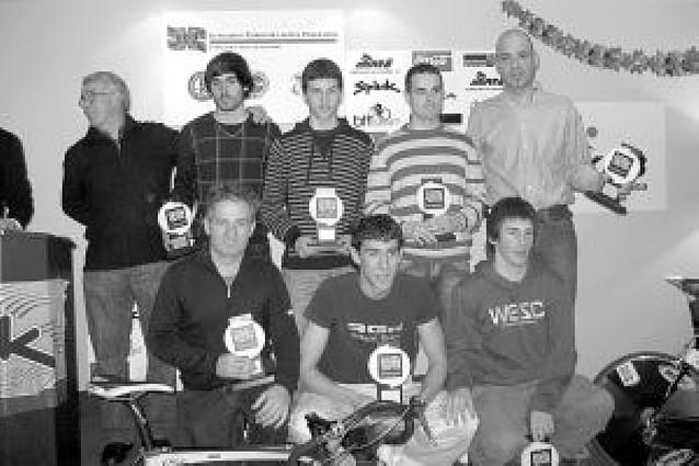 Espada recoge dos trofeos en la Gala del Deporte Vasco