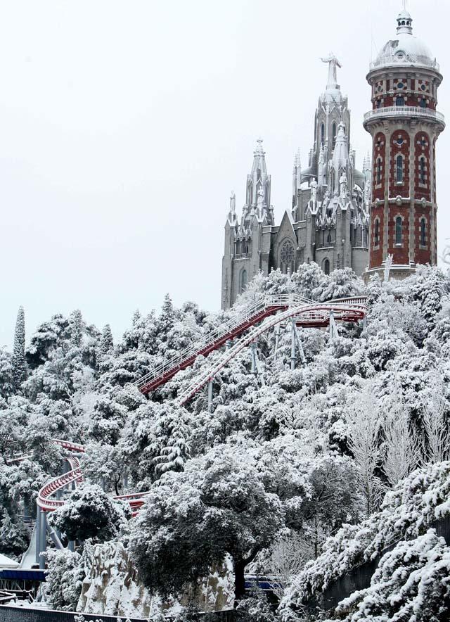 Un total de 25 provincias españolas permanecen en alerta por frío y nieve