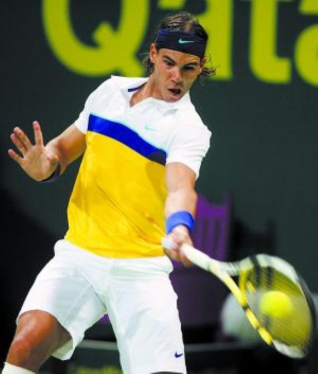 Nadal arrolla a Beck y ya está en cuartos de Doha junto a Federer